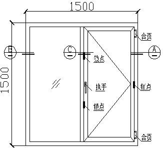 建筑门窗节能标识产品图纸要求